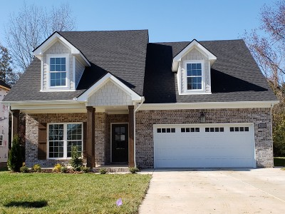 Murfreesboro Single Family Home For Sale: 3523 Pershing Dr.- Lot 14