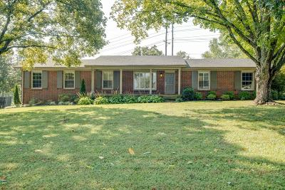 Nashville Single Family Home Active Under Contract: 485 Brentview Hills Dr