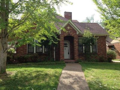 Robertson County Rental For Rent: 317 Walnut St