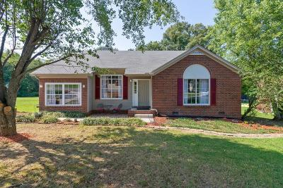 Mount Juliet Single Family Home For Sale: 1056 Cedar Creek Village Rd