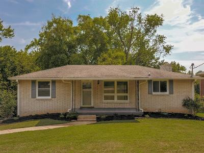 Nashville Single Family Home Active Under Contract: 2309 Selma Ave