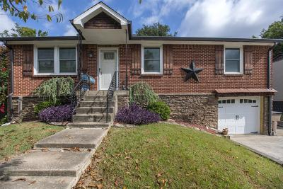 Nashville Single Family Home For Sale: 114 Valeria St