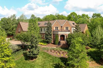 Franklin Single Family Home For Sale: 1701 Talbot Trl