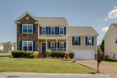 Thompsons Station  Single Family Home Active Under Contract: 1001 Watauga Ct