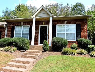 Thompsons Station  Rental For Rent: 808 Cashmere Drive