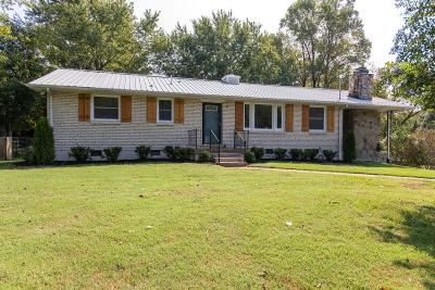 Nashville Single Family Home Active Under Contract: 2621 Western Hills Dr