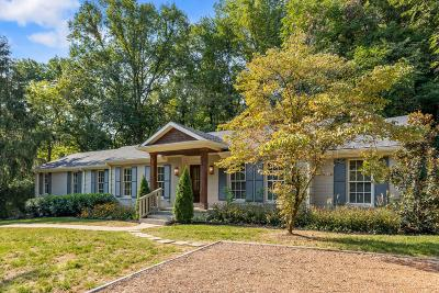Nashville Single Family Home For Sale: 5175 Granny White Pike