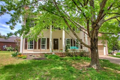 Hendersonville Single Family Home Active Under Contract: 125 La View Road