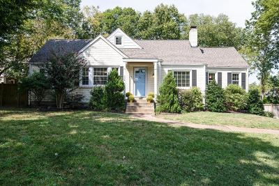Green Hills Single Family Home For Sale: 934 Battery Ln