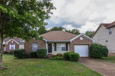 Nashville Single Family Home For Sale: 709 Woodcraft Dr