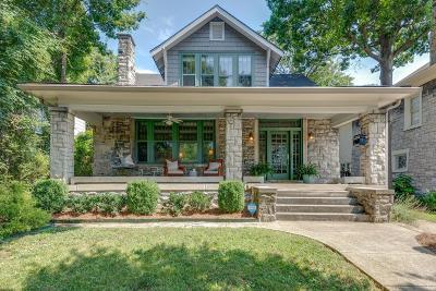 Nashville Single Family Home For Sale: 1706 Sweetbriar Ave
