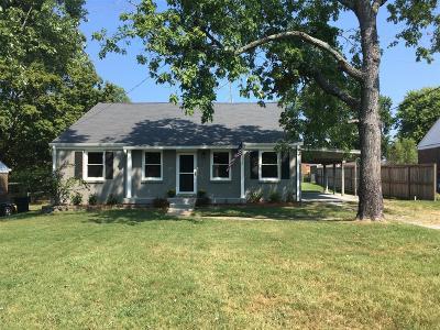 Nashville Single Family Home For Sale: 3116 Cloverwood Dr