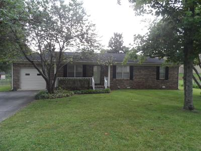 Pulaski Single Family Home Active Under Contract: 907 Livingston Dr