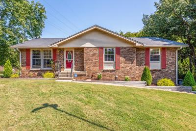 Hendersonville Single Family Home Active Under Contract: 319 Southburn Dr