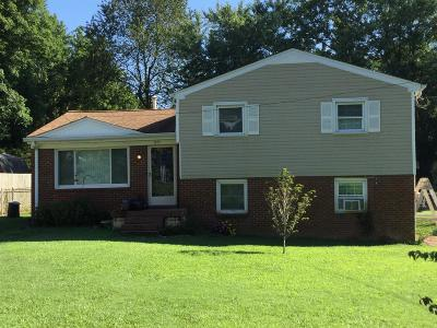 Greenbrier Single Family Home Active Under Contract: 1973 Old Greenbrier Pike