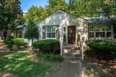 Nashville Single Family Home Active Under Contract: 104 Keyway Dr