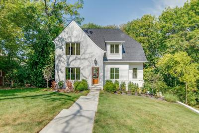 Green Hills Single Family Home For Sale: 3533 Trimble Rd