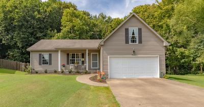 Adams, Clarksville, Springfield, Dover Single Family Home For Sale: 1244 Cottonwood Dr