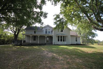 Adams, Clarksville, Springfield, Dover Single Family Home For Sale: 3530 Ashland City Rd