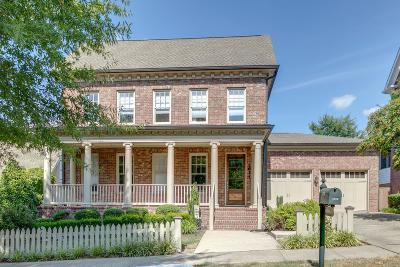 Franklin Single Family Home Active Under Contract: 1634 Grassmere Rd
