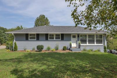 Nashville Single Family Home For Sale: 1005A Mitchell Rd
