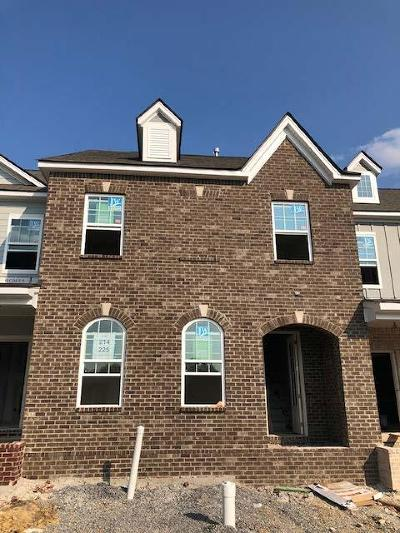 Hendersonville Condo/Townhouse For Sale: 225 Tanglewood Ln. - Lot 214