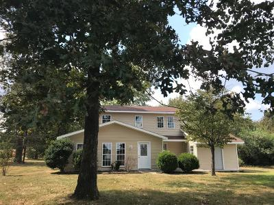 Franklin County Single Family Home For Sale: 1582 Cook Rd