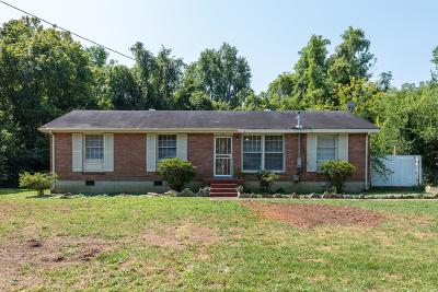 East Nashville Single Family Home For Sale: 2607 Colbert Dr