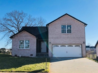 Clarksville Single Family Home For Sale: 270 Timber Springs