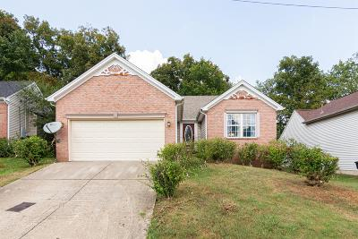 Nashville Single Family Home For Sale: 1212 Twin Circle Dr