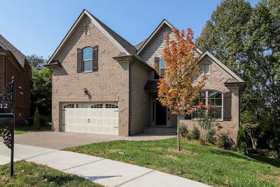Hendersonville Single Family Home For Sale: 212 Lotus Ct