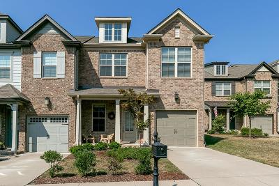 Thompson's Station, Thompsons Station Condo/Townhouse For Sale: 1489 Channing Dr