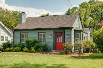 Nashville Single Family Home For Sale: 1146 Kirkland Ave