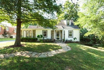 Nashville Single Family Home For Sale: 244 Cumberland Cir