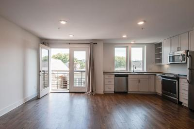 Nashville Condo/Townhouse For Sale: 1325 5th Ave N Apt 24 #24
