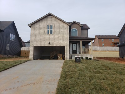 Clarksville Single Family Home For Sale: 827 Crestone Ln (Lot 82)