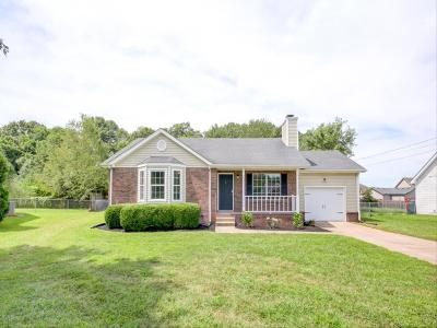 Clarksville Single Family Home For Sale: 3404 Oak Lawn Dr