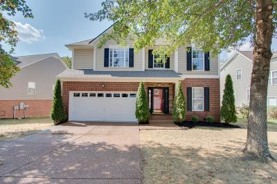 Spring Hill Single Family Home For Sale: 1415 Bern Dr