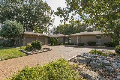 Nashville Single Family Home For Sale: 109 Lakeside Ct