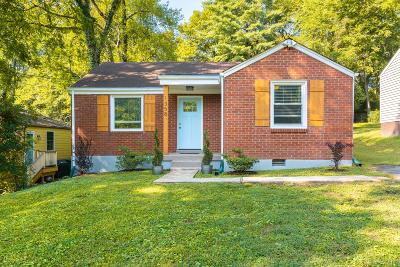 East Nashville Single Family Home For Sale: 1358 Cardinal Ave
