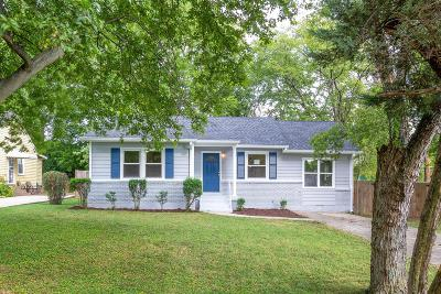 East Nashville Single Family Home For Sale: 1401 Jewell St