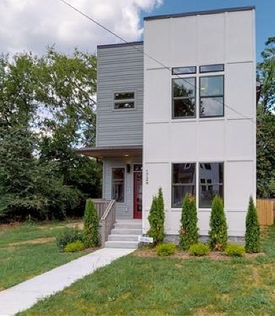 Nashville Single Family Home For Sale: 1724 Knowles St