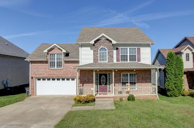 Clarksville Single Family Home For Sale: 3480 Melrose Dr