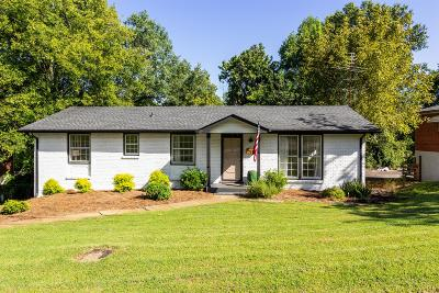 East Nashville Single Family Home For Sale: 1711 Welcome Ln