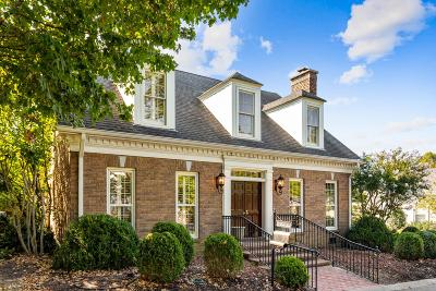 Nashville Single Family Home For Sale: 62 Revere Park