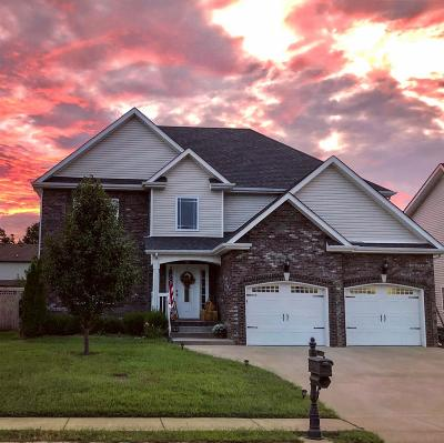 Clarksville Single Family Home For Sale: 1253 Chinook Cir