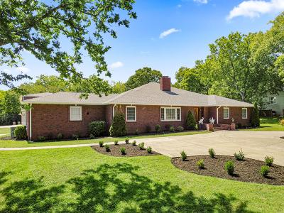 Nashville Single Family Home For Sale: 117 Vaughns Gap Rd