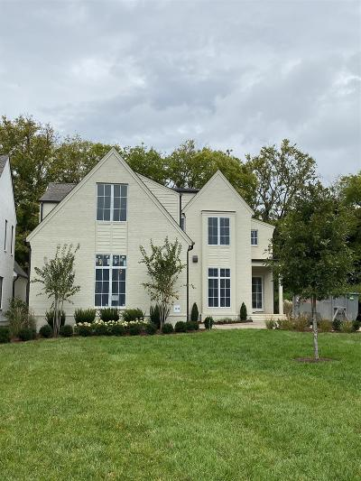 Nashville Single Family Home For Sale: 1808 Castleman