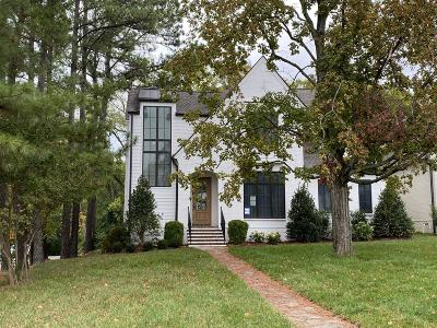 Nashville Single Family Home For Sale: 1810 Castleman