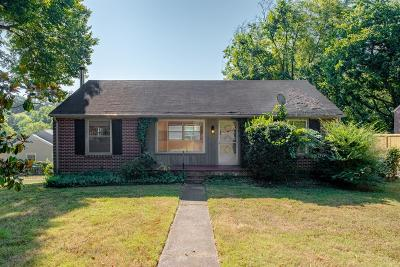 Nashville Single Family Home For Sale: 802 Kendall Dr
